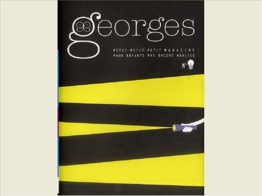 MAGAZINE GEORGES N 9  - AMPOULE