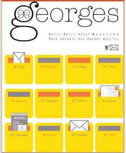 MAGAZINE GEORGES N 11 - LETTRE