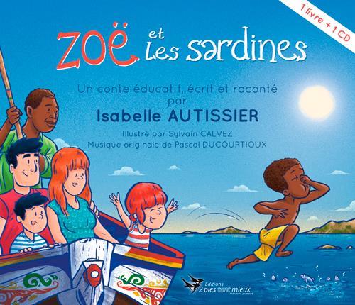 ZOE ET LES SARDINES (LIVRE+CD)