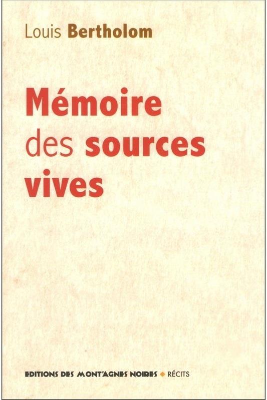 MEMOIRES DES SOSURCES VIVES